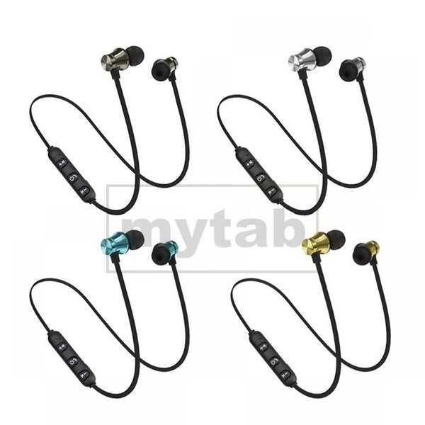 XT11 Sports Bluetooth Stereo Earphone Waterproof Magnetic Wireless In-Ear Headset With Mic Headphone for iPhone Android Phones