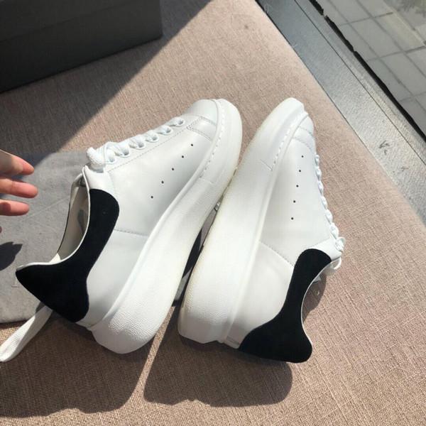 2019 moda tasarımcısı küçük beyaz ayakkabı ve kadın deri platform ayakkabı
