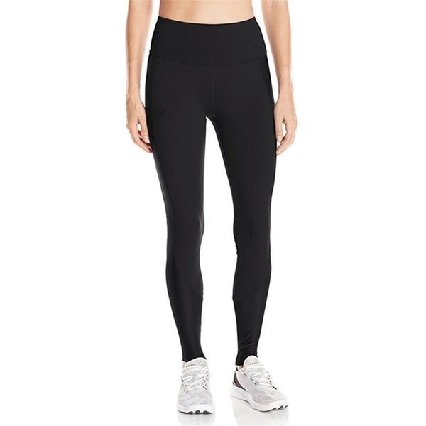 S-XXL Quick Dry Stretchy Leggings Women Sports Jogging YOGA Pants U&A Slim Tights Sports Solid Color GYM Workout Trousers Track Pants C42305