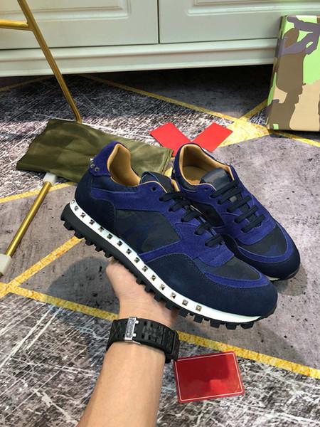 2020 new Hot selling Newest Designer Women'S Men's Sneakers casual shoes Women Shoes Blue Men shoes yh19110211