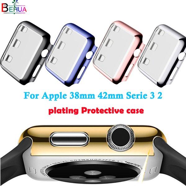 Koruyucu kılıf kaplama koruyucu kılıf Apple 2/3 İzle İnce Kaplama Kılıfları 38mm 42mm İzle All-round koruma