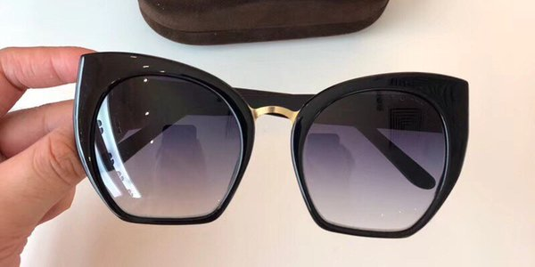 Luxury 553 Sunglasses For Women Fashion Designer Popular Retro Style UV Protection Lens Cat Eye Frame Top Quality Free Come With Package