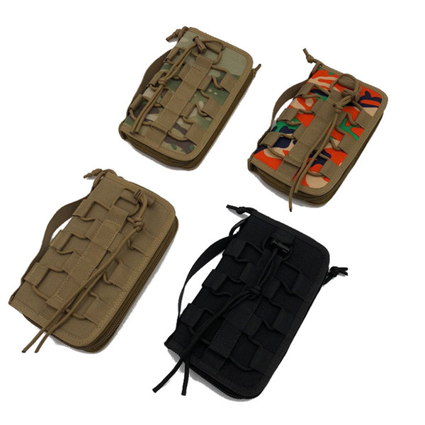 1 piece army fan tactical hand bag camping tool bag outdoor men women sports cool card wallet leisure package 20x12x3cm thumbnail