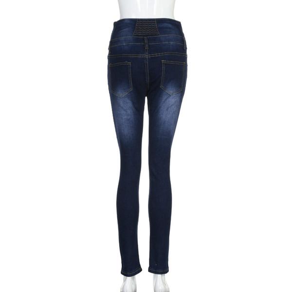 Balck mom jeans woman arrival casual summer hot sale denim women shorts high waists fur-lined leg-openings sexy long Jeans 215