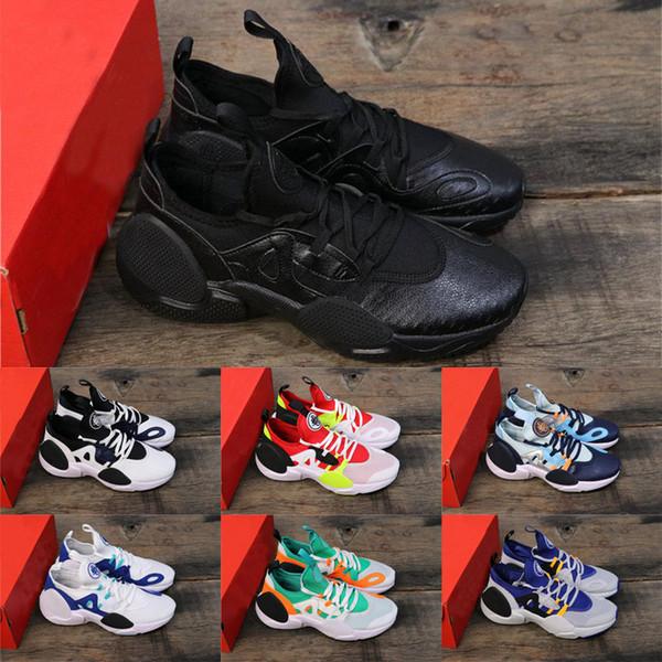 2019 le plus récent vol aérien huarache 7 Edge TXT inspiré par l'OG en tricot Respirant espadrilles Chaussures de course à pied pour homme