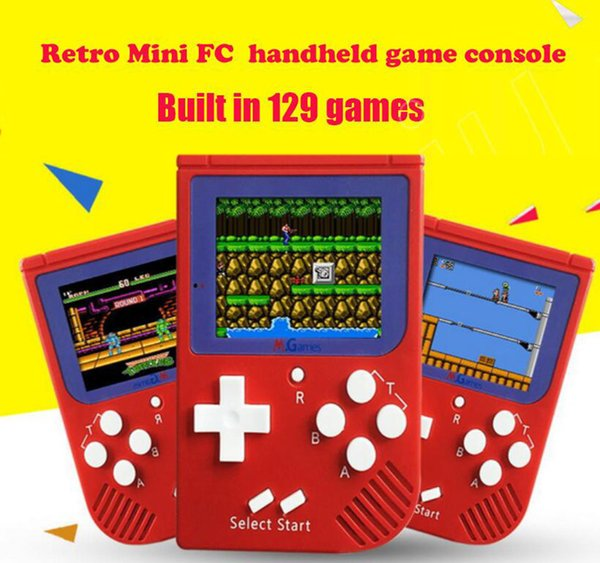 CoolBaby RS-6 Portable Retro Mini Handheld Game Console 8 bit Color LCD Game Player For FC Game 50pcs free DHL