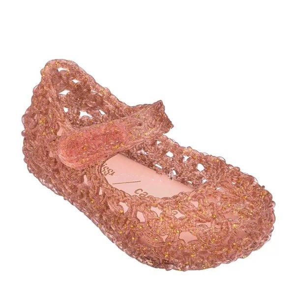 Sandalet Kız Kız Bebek Çocuk Hollow Out Yürüyor Sandalet Terlik Çocuk Yumuşak Sole Jelly Ayakkabı Yeni Moda Bebek Yürüyor Ayakkabı