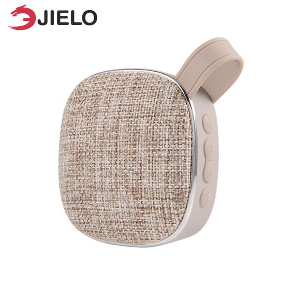 Tissu Portable Bluetooth Haut-Parleur Extérieur Vélo Tissu en tissu Mini Portable Boombox Sans Fil Stéréo Surround Lecteur De Musique Tf Carte en gros