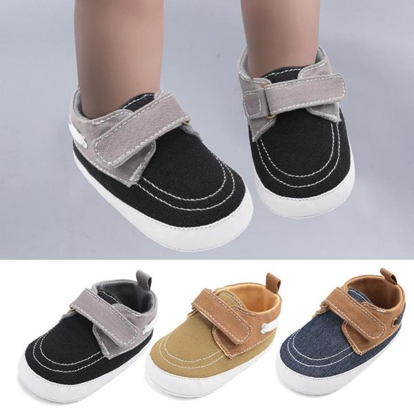 Child Kid Sport Sneaker Trainers Baby Girl Boy Soft Leather Crib Shoes Prewalker