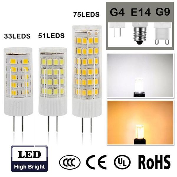 LED Line® G9 Ceramic LED Light Bulb SMD 4W Warm White Living Room UK Stock
