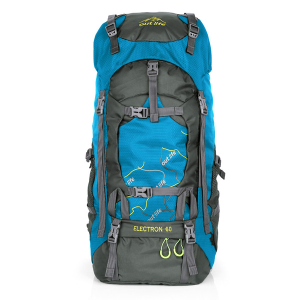 Outlife 8811 65L Outdoor Backpack Camping Hiking Backpack Sports Travel Bag Mountaineering Rucksack Climbing Backpack Men Women