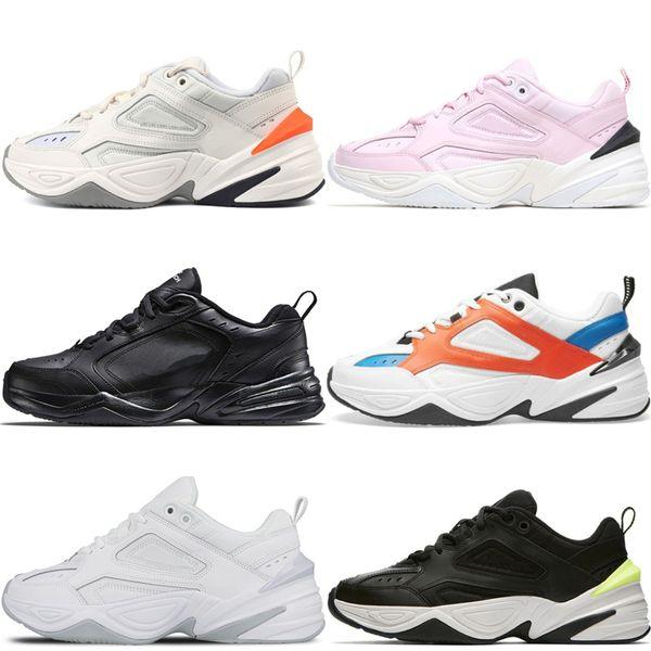 Top Qualtiy Monarch M2K Tekno Dad Sports Running Shoes john elliott Black Volt pink foam Paris White mens sneakers women designer sneakers