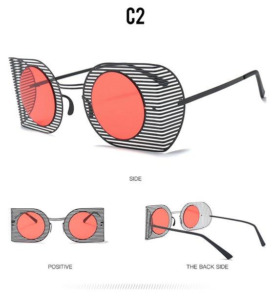 C2 Preto / Vermelho