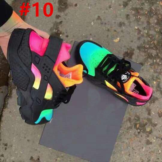 2018 New Air Huarache Running shoes trainers big Kids Boys girls Men and Women Black White outdoors shoes Huaraches sneakers gb cfgs