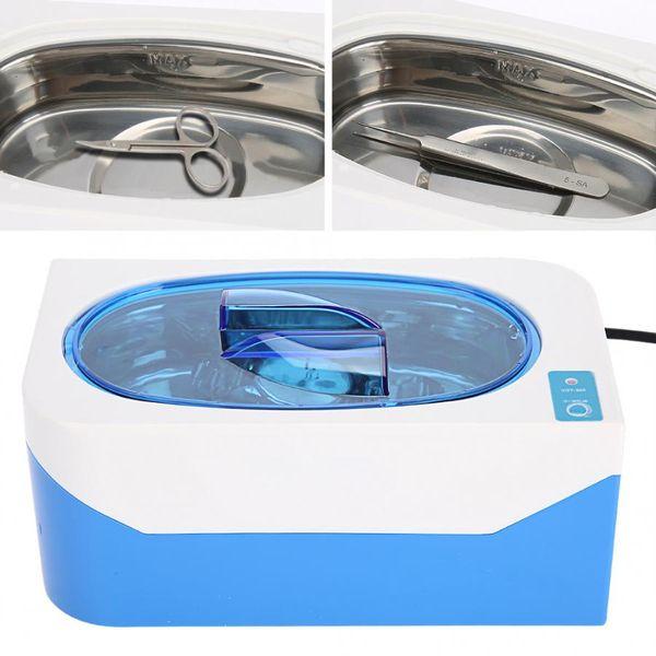 Professional Ultrasonic Cleaner Jewelry Watch Eyeglass Cleaning Machine Intelligent Control Dental Razor Nail Art Equipment