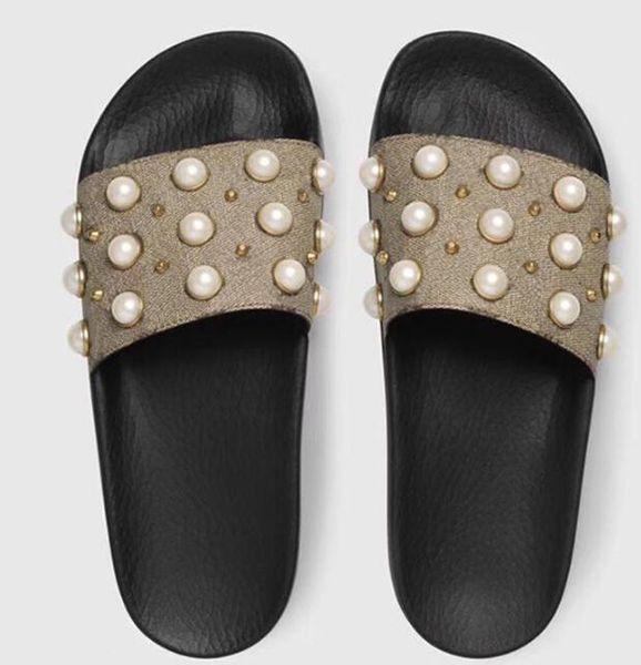 Designer flower printed beach flip flops slippers Fashion slide sandals slippers for men and women causal slippers siz 35-4511122