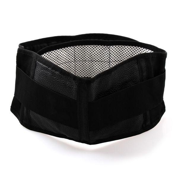 Soporte de cinturón de cintura de calor magnético para el alivio del dolor Apoyo de la terapia de espalda inferior # 203273