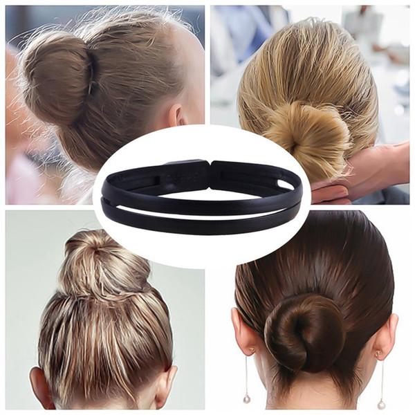 Hair Styling Donut Brötchen Clip Tool Französisch Twist Maker Halter