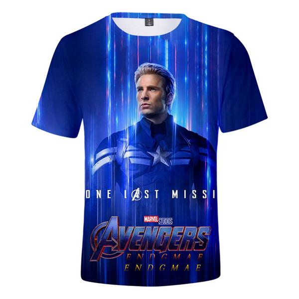 Avengers 4 Endgame 3D Print Women designer t shirts Fashion luxury shirt Summer Short Sleeve Tshirts Hot Sale Casual Streetwear Tee Shirts