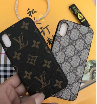 Wallets brand design plaid printed letter G mobile phone case shell for iphone Xs max Xr X 7 7plus 8 8plus 6 6plus hard back cover