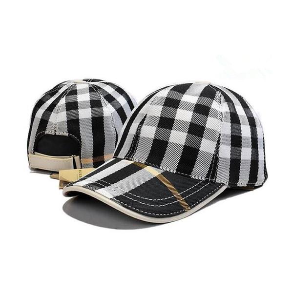 New mens adjustable designer hats lady fashion leisure designer caps luxury hat cotton casquette de designer drop shipping