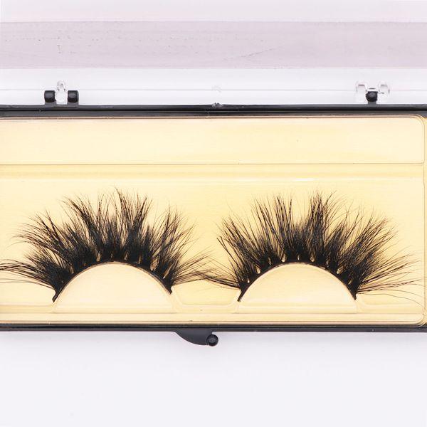 Wholesale long dramatic mink lashes 25mm real siberian mink eyelashes