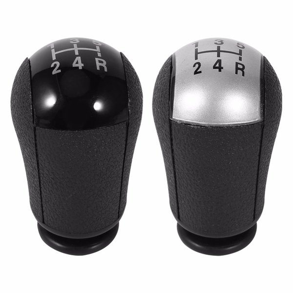 5 Speed MT Gear Stick Shift Knob Car For Ford Focus Mondeo MK3 S-MAX C-MAX Mustang Galaxy Fiesta MK6 Transit Black/Silver Colors