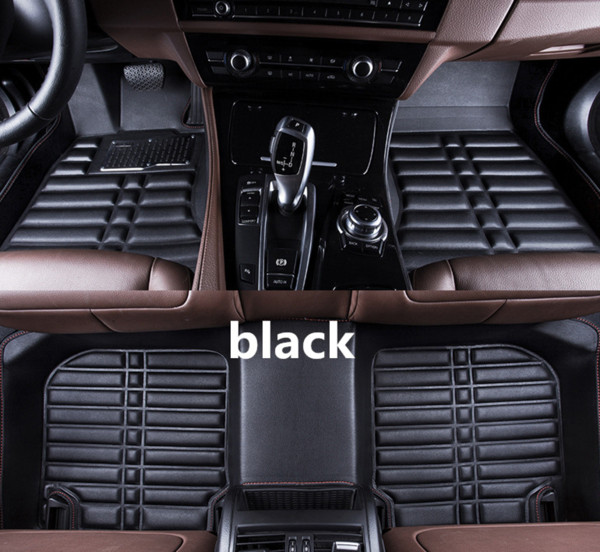For Chevrolet Epica 2006-2013 Car Floor Mats Front & Rear Liner Accessories Non-slip waterproof leather Carpets Auto Luxury sedan Pads