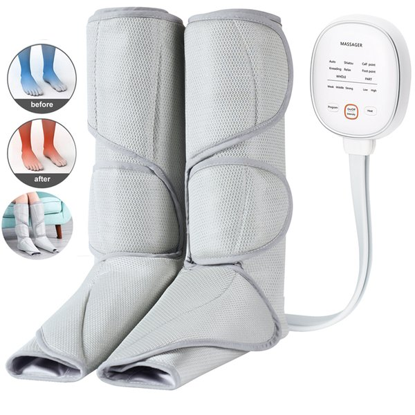 Foot and leg ma ager for circulation calf circulation machine with handheld controller 2 mode relieve fatigue