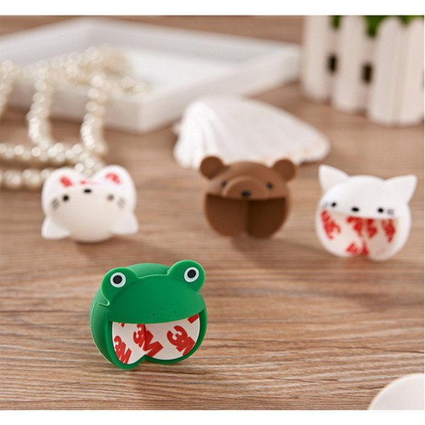 Cute Animal Table Corner Edge Protection Cover Baby Safety Silicone Protector Cartoon Children Anticollision Guards Protector