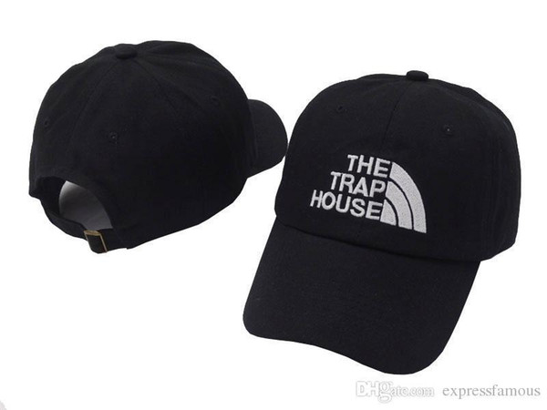 The Trap House hat peaked baseball caps Summer fashion snapback hip hop outdoor sports strapback cotton sun hats for men women