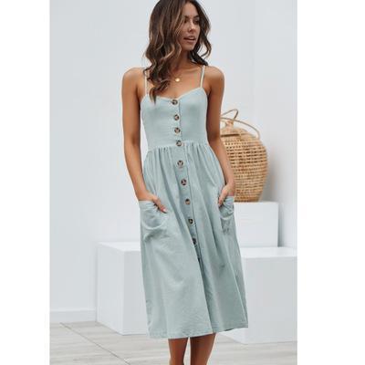 2019 heißer Verkauf Womens Designer Kleider Spaghetti Strap Frauen gedruckt Kleider Sommer kurze Womens Holiday Röcke Größe S-XL