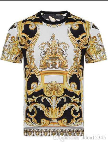 2019 Herren Designer T Shirts Rosa Gelb Weiß Schwarz Rot Herren Damen Designer T Shirts GC T Shirt Größe M-3XL # 055