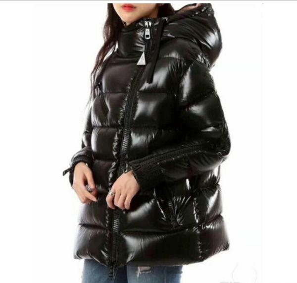 Wholesale-New brand designer Thickening Parkas Winter Warm down jacket Women Cuff zipper Outerwear Plus Size Casual Down Wadded