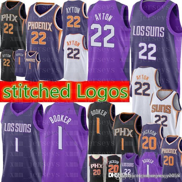 e65c680fcade DeAndre 22 Ayton Jersey New Phoenix City Suns Basketball Jerseys Mens Devin 1  Booker Josh 20
