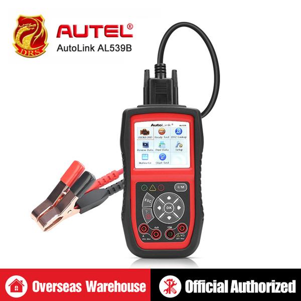 Autel AutoLink AL539B Auto Code Reader OBDII Diagnostic Tool OBD2 Scanner Electrical Test Battery AVO Meter PK AL519