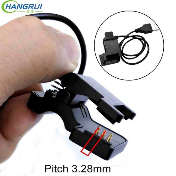 TW64 TW68 Smart Bracelet USB Charging Cable 2 pin 4mm 5.5mm 3 pin 6mm power charging charger smartband Replacement Accessories