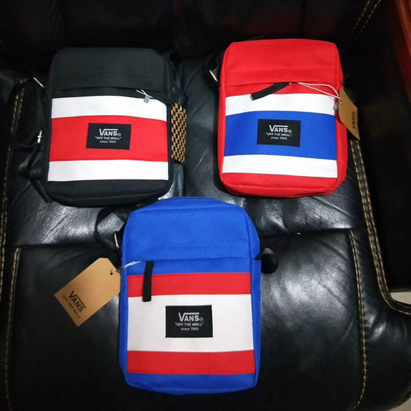 19SS Father's Day Gift Fashion Mini Unisex Shoulder Bags Hip Hop Couple Messenger Bags Skateboarding Jogging Ourdoor Sport Bag