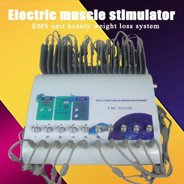 PIÙ NUOVO !!! Sistema elettrico di dimagramento di bellezza di unità di EMS della macchina di elettrostimolatore del muscolo elettrico dello stimolatore del muscolo di alta qualità