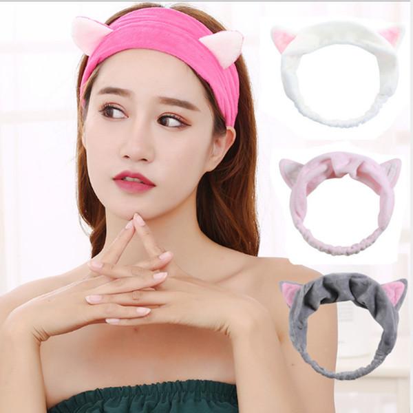 Bande de nouveau chat oreilles Hairband Head Band Coiffure Cheveux Accessoires Maquillage Outils