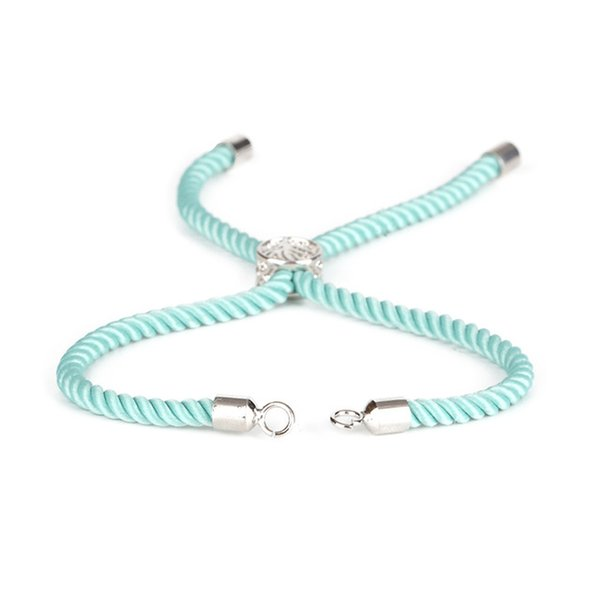Color:silver mint green