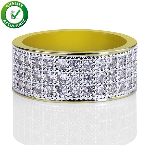 Hip Hop Jewelry Mens Rings Luxury Designer Engagement Rings Iced Out Diamond Love Ring Pandora Style Charm Wedding Bands Gold Rapper Fashion