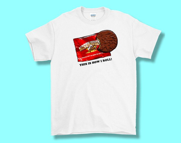 Wagon Wheels Biscuit Tee, T Shirt Adult S M L XL, Fun Retro Summer NostalgiaFunny free shipping Unisex Casual Tshirt