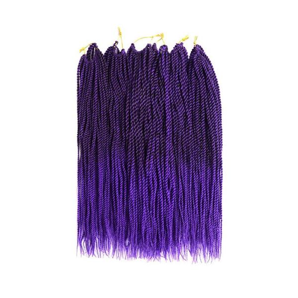 Senegalese Twist Crochet Hair 3 Packs 18 inches Short Braids Small Havana Mambo Twist Crochet Braiding Hair Extensions
