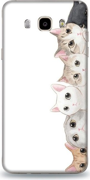 Dynamics curious case for samsung j7 cats pattern cases ship from turkey HB-000832985