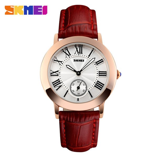 Personality Originality Business Affairs Ma'am Genuine Leather Wrist-watches Noble Woman Surface