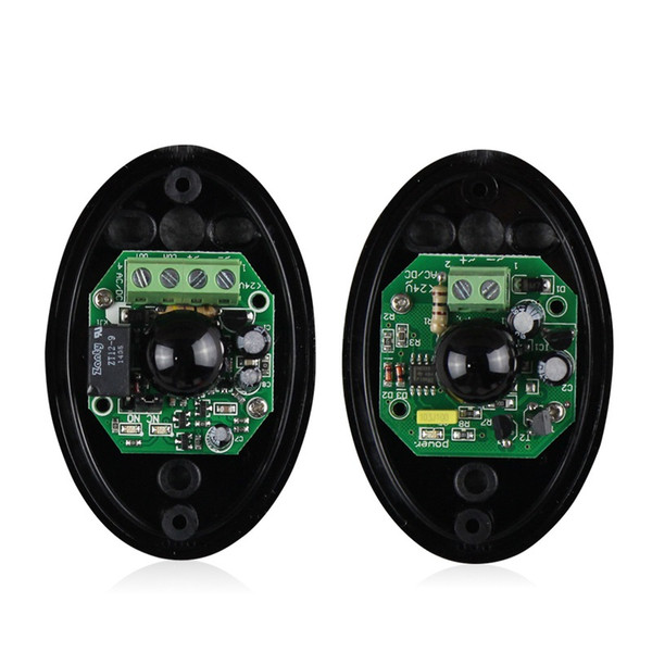 Водонепроницаемый Активный Фотоэлектрический Одноместный Инфракрасный Луч Инфракрасный Датчик Барьер Детектор для Ворот Двери Окна охранной сигнализации