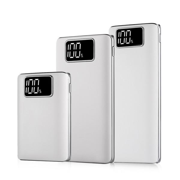 Teléfono móvil universal Banco de energía Portátil Batería de reserva de emergencia externa Cargador de batería PowerBank USB Pack 7500mah 10000mah