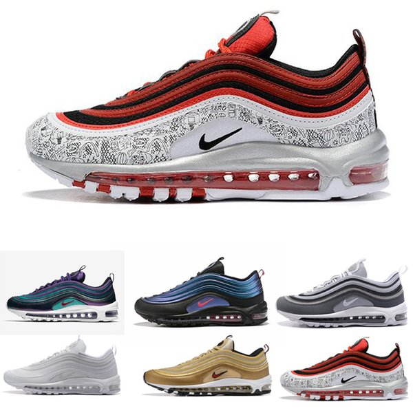 nike air max airmax 97 Günstige New Mens 97 Plus-Tn Designer Schuhe Chaussures Homme Tn Plus-Frauen-Sport-Trainer Zapatiallas Hombre Tns Kissen Run Schuh Eur 36-46