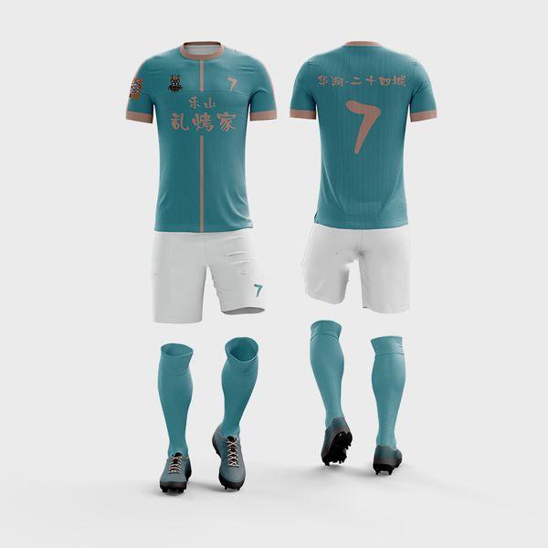custom college adult soccer jerseys Quick Dry Custom Logo Designs football Team Uniforms